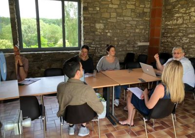 Salle de formation formation au Co-working Jem'connecte à Jemeppe-sur-Sambre